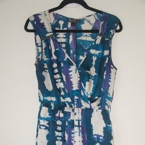 Armani Exchange MP Metropark  Mini Dress  Zipper